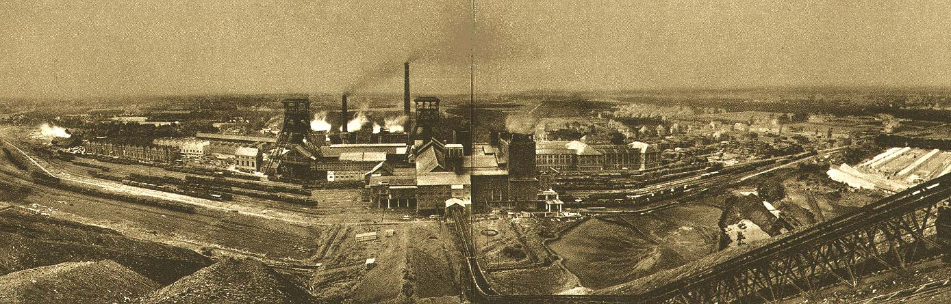 The coal mine of Beringen in the s