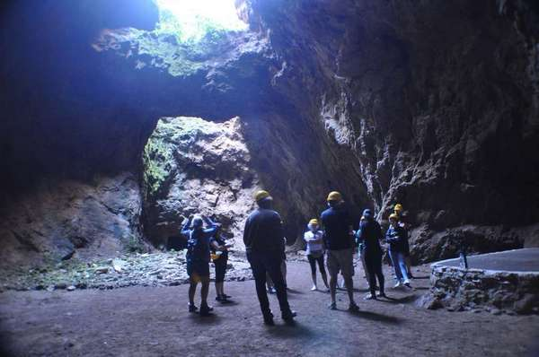 Visit underground quarries
