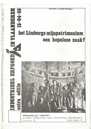 The special issue of the VVIA newsletter launching the campaig to save the mining heritage, 1988
